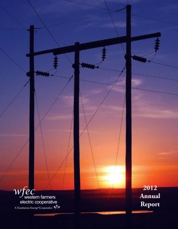 2012 WFEC Annual Report - Western Farmers Electric Cooperative