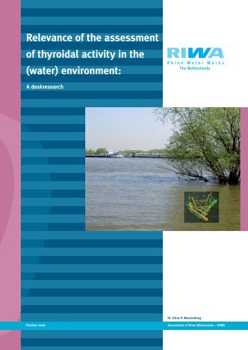 Relevance of the assessment of thyroidal activity in the (water ... - Riwa
