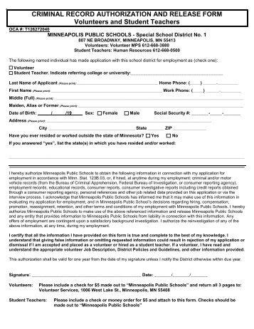 record release authorization