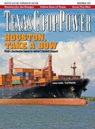 Texas Co-op Power • November 2013 - Fayette Electric Cooperative ...