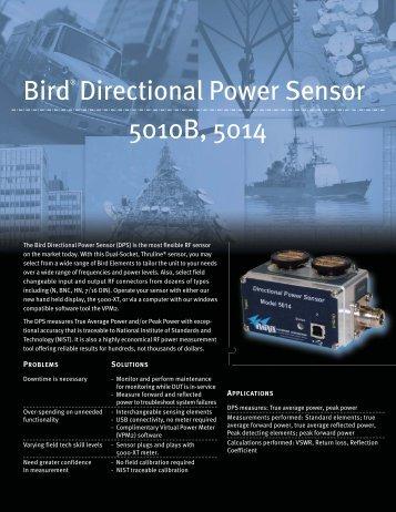 Bird® Directional Power Sensor 5010B, 5014