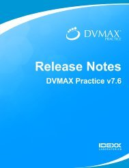 View the Latest Release Notes - DVMAX
