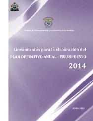 Liniamientos - Secretaria de Salud
