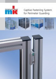 Captive Fastening System for Perimeter Guarding - mk Technology ...