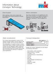 Information about Conveyor Technology - mk Technology Group