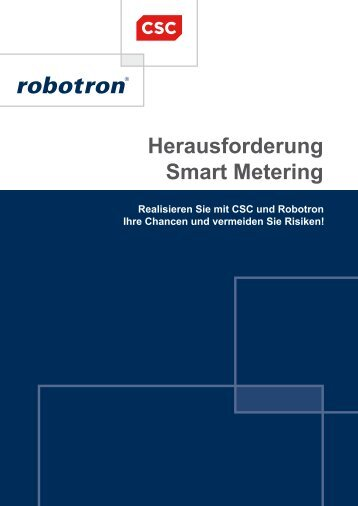 Herausforderung Smart Metering - Robotron Datenbank-Software ...