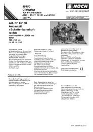 59150 Gleisplan Art. Nr. 80150 Anbauteil - Euro Model Trains