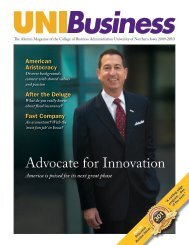 Advocate for Innovation - College of Business Administration ...