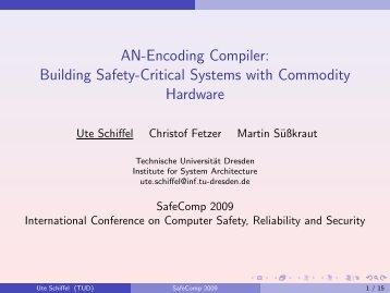 Presentation PDF - Technische Universität Dresden