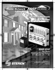 550-010 Manual - Steren Electronics