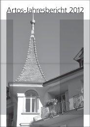 Artos-Jahresbericht 2012 - Zentrum · Artos Interlaken