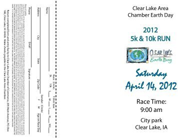 Saturday April 14, 2012 - Clear Lake Area Chamber of Commerce