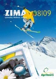 Katalog Agritours Slovakia - Zima 2008/2009