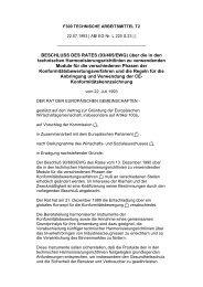 BESCHLUSS DES RATES (93/465/EWG) über die in den ... - ZLS