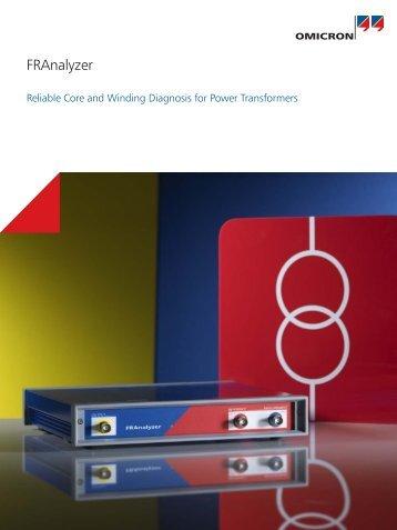 FRAnalyzer Brochure - English - firsttech.ro