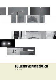 Bulletin 2010/06 - visarte zürich