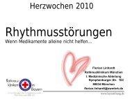 Wenn Medikamente allein nicht helfen - Rotkreuzklinikum München