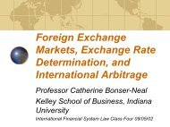 Foreign Exchange Markets - LFIP