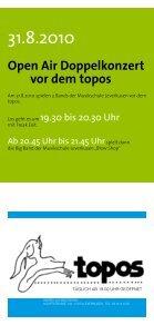 Quartals-Programm als PDF herunterladen - Topos - Page 5
