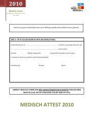 2010 MEDISCH ATTEST 2010