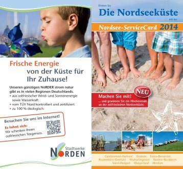 Nordsee-ServiceCard 2014