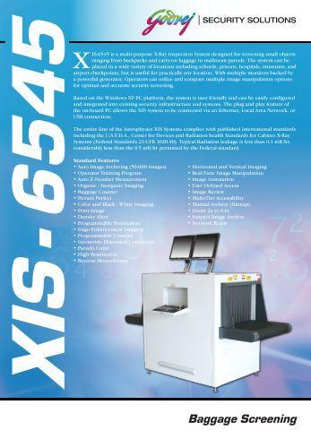 astrophysics inc xis 6545 manual