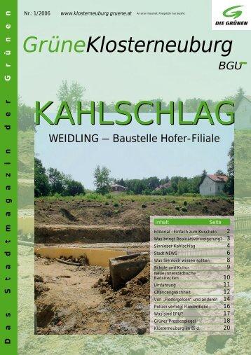 Frühjahr 2006 - buergerunion.at