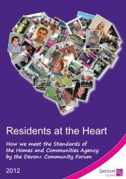 Devon+ Community Forum Annual Report 2012 - Spectrum Housing ...