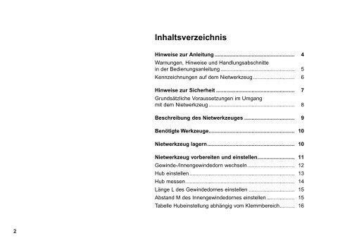 Nietwerkzeug MS 7 - Titgemeyer
