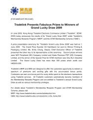 Tradelink Presents Fabulous Prizes to Winners of Grand Lucky Draw ...