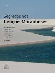 Lençóis Maranheses - Revista Pesquisa FAPESP
