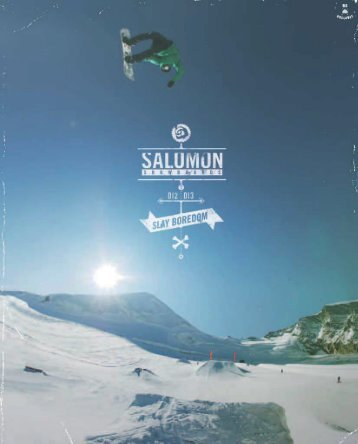 Catalogue snowboard