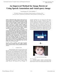 An Improved Method for Image Retrieval Using Speech ... - ijcsmr