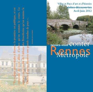 Mise en page 1 - Office de Tourisme de Rennes Métropole
