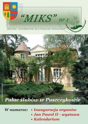 Miks 1.indd - Stowarzyszenie Przyjaciół Puszczykowa