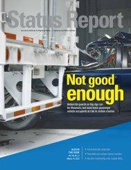 IIHS Status Report newsletter, Vol. 48, No. 2, March 14, 2013