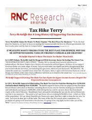Tax Hike Terry - Republican National Committee