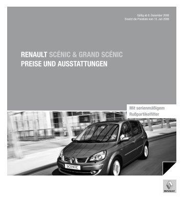Renault scÉnic & gRand scÉnic PReise und ... - Auto Motor und Sport