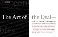 How VCs Choose Entrepreneurs - The University of Chicago Booth ...