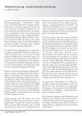 Stigmatisierung - keine Randerscheinung, Regenbogen-Cup 2010 - Page 7