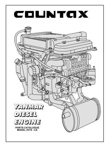 Silnik Yanmar Diesel - Klippo