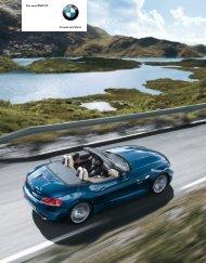 Freude am Fahren Der neue BMW Z - premium auto rent