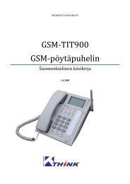 TIT-900 käsikirja - Microdata Finland Oy