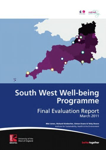 2. The South West Well-being Programme - CLES