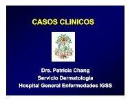 CASOS CLINICOS - PIEL-L Latinoamericana
