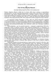 Prof. dr hab. Zbigniew Messner - Uniwersytet Ekonomiczny w ...