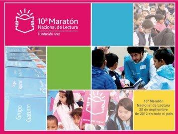 10ª Maratón Nacional de Lectura 28 de septiembre de 2012 en todo ...