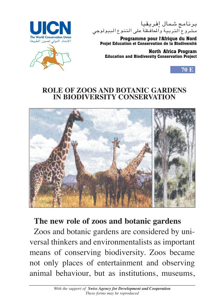 the role of zoos in conservation ethical considerations essay Zoo vs sanctuary: an ethical consideration zoo vs sanctuary: the aza position by michael hutchins, phd, director/william conway chair aza department of conservation and science october 2004 the detroit and san francisco zoos' recent announcements that they intend to send their remaining.