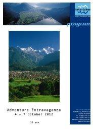Adventure Extravaganza Interlaken - Jungfrau Region