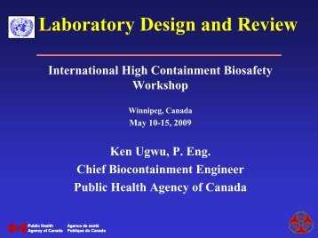 Laboratory Design and Review